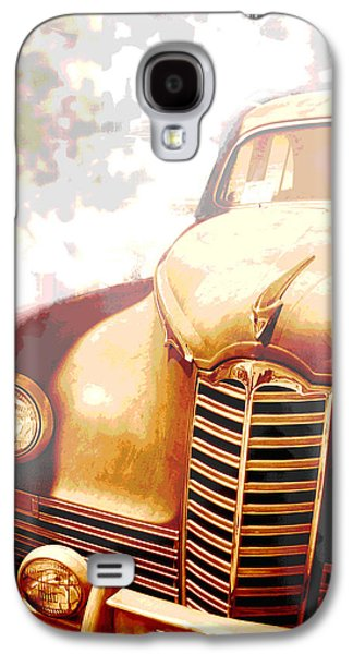 Classic Car 1940s Packard  Galaxy S4 Case by Ann Powell