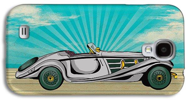 Classic Cars 02 Galaxy S4 Case by Bedros Awak