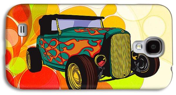 Classic Cars 09 Galaxy S4 Case by Bedros Awak
