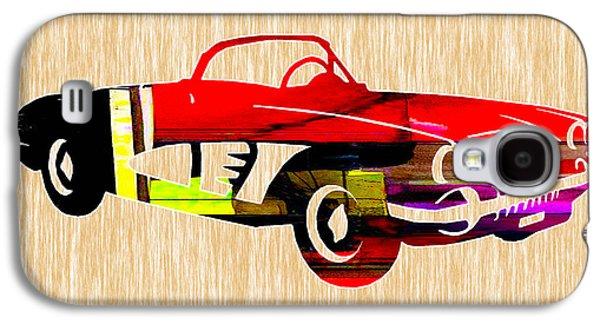 Classic Corvette Galaxy S4 Case