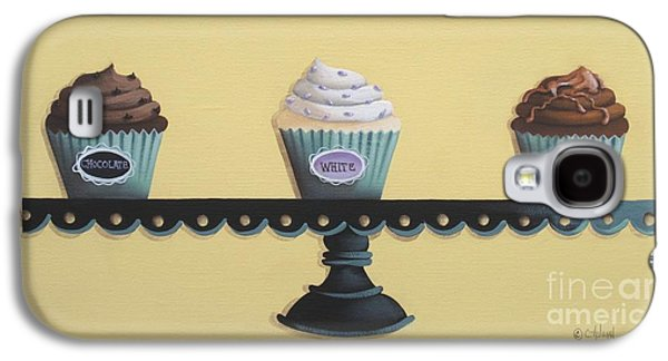 Classic Cupcakes Galaxy S4 Case by Catherine Holman
