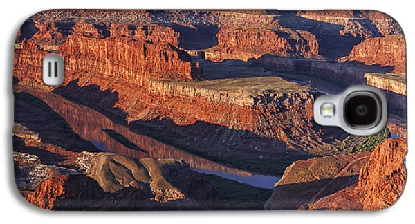 Classic Dead Horse Point Sunrise Galaxy S4 Case by Mark Kiver