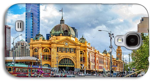 Classic Melbourne Galaxy S4 Case by Az Jackson