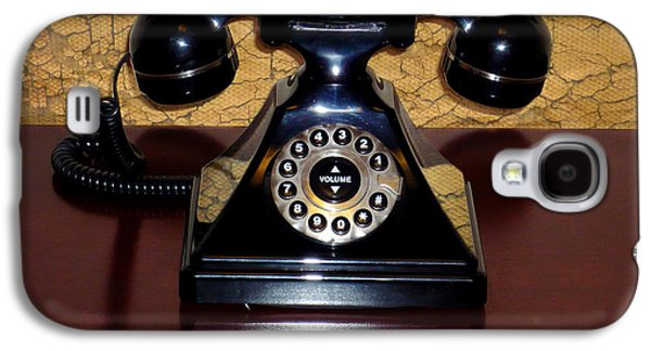 Classic Rotary Dial Telephone Galaxy S4 Case by Mariola Bitner