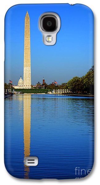 Washington Monument Galaxy S4 Case - Classic Washington by Olivier Le Queinec