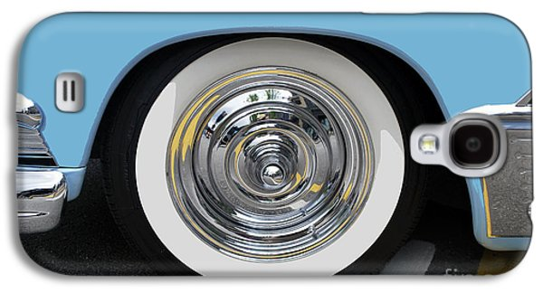 Classic Wide Whitewall Tire Galaxy S4 Case by Bill Thomson