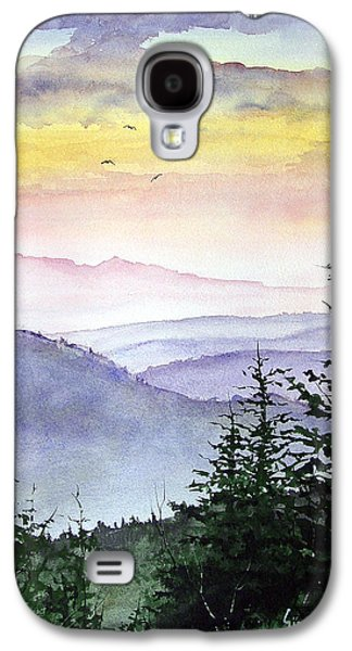 Mountain Galaxy S4 Case - Clear Mountain Morning II by Sam Sidders