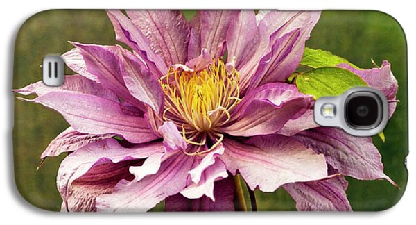 Clematis 'mrs Spencer Castle' Galaxy S4 Case by Ian Gowland