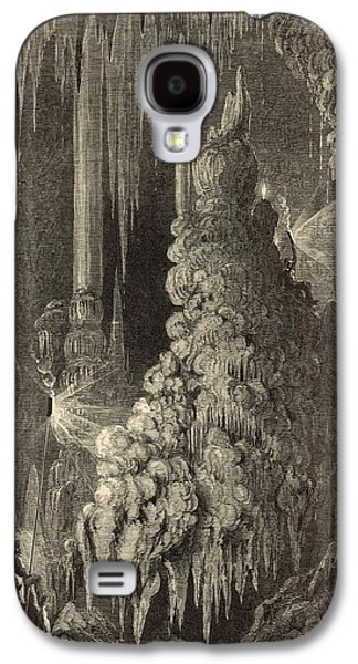 Cleopatra's Needle And Anthony's Pillar 1872 Engraving Galaxy S4 Case