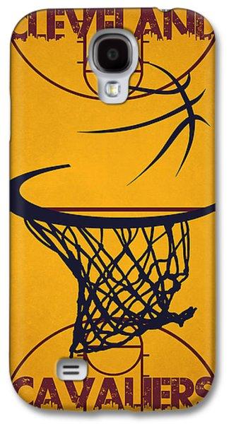 Cleveland Cavaliers Court Galaxy S4 Case