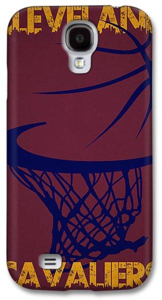 Cleveland Cavaliers Hoop Galaxy S4 Case by Joe Hamilton