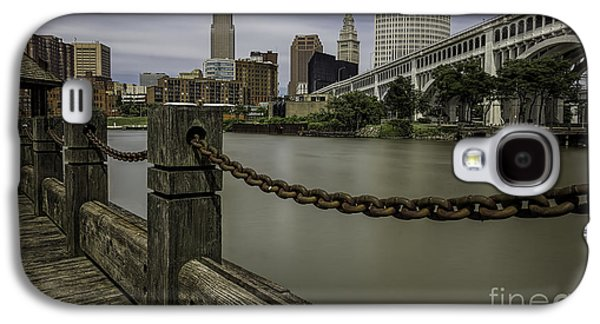 Cleveland Ohio Galaxy S4 Case by James Dean
