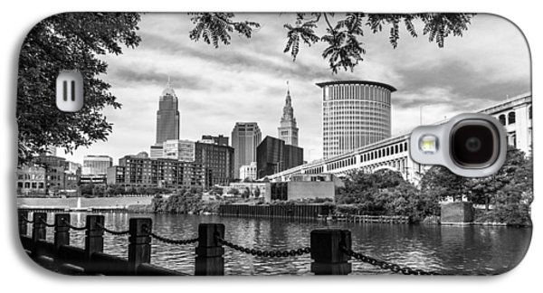 Cleveland River Cityscape Galaxy S4 Case
