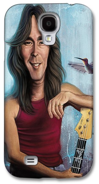Cliff Williams Galaxy S4 Case by Andre Koekemoer