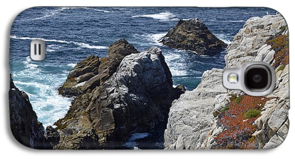Cliffs And Coastline At California's Point Lobos State Natural Reserve Galaxy S4 Case