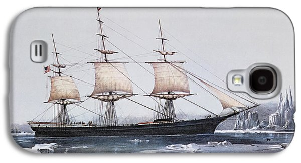 Clipper Ship Red Jacket In The Ice Off Cape Horn On Her Passage From Australia To Liverpool Galaxy S4 Case by American School