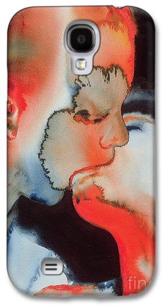 Close Up Kiss Galaxy S4 Case