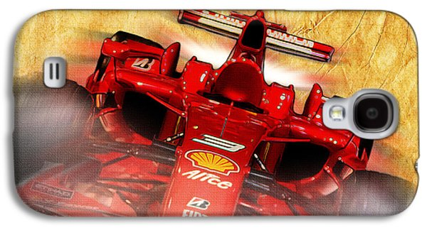 Close-up Of A Ferrari Galaxy S4 Case by Stefano Senise