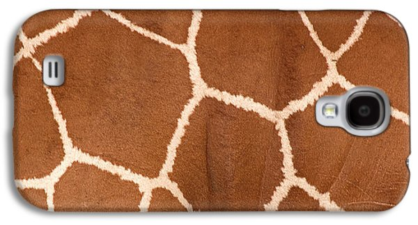 Close-up Of A Reticulated Giraffe Galaxy S4 Case by Panoramic Images