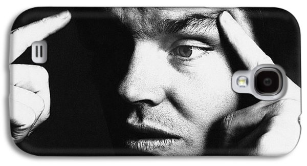 Close Up Of Jack Nicholson Galaxy S4 Case by Jack Robinson