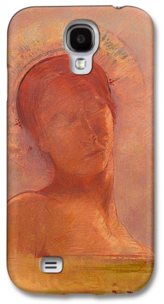 Closed Eyes Galaxy S4 Case by Mountain Dreams