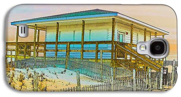 Closed Seaside Heights Boardwalk Galaxy S4 Case by Gary Keesler