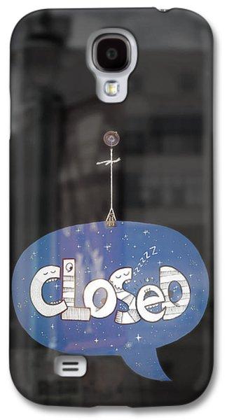 Closed Sleep Tight Galaxy S4 Case by Scott Norris