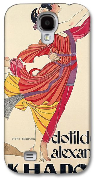 Clotilde And Alexandre Sakharoff Galaxy S4 Case by George Barbier