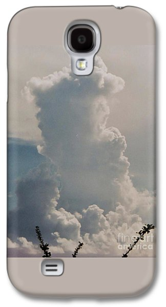 Cloud Faces In St. Thomas Galaxy S4 Case