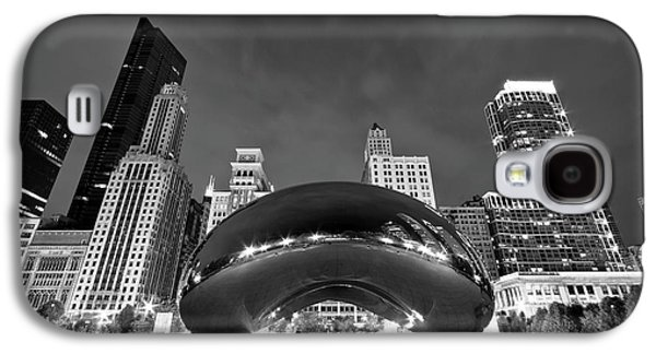 Cloud Gate And Skyline Galaxy S4 Case