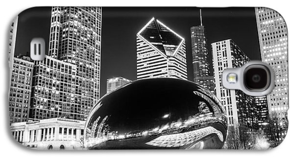 Cloud Gate Chicago Bean Black And White Picture Galaxy S4 Case