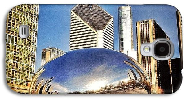 Cloud Gate chicago Bean Sculpture Galaxy S4 Case