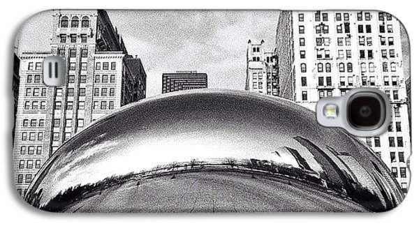 Chicago Bean Cloud Gate Photo Galaxy S4 Case