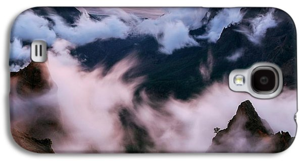 Clouds And Peaks Galaxy S4 Case
