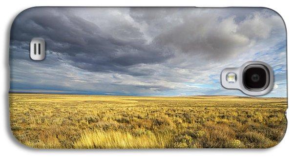 Clouds And Prairie Hart Mt N R Galaxy S4 Case