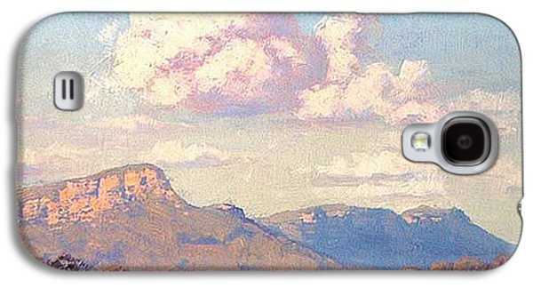 Clouds Over Megalong Galaxy S4 Case