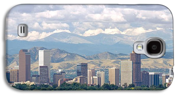 Clouds Over Skyline And Mountains Galaxy S4 Case by Panoramic Images
