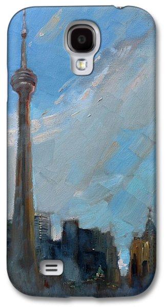 Cn Tower Toronto Galaxy S4 Case