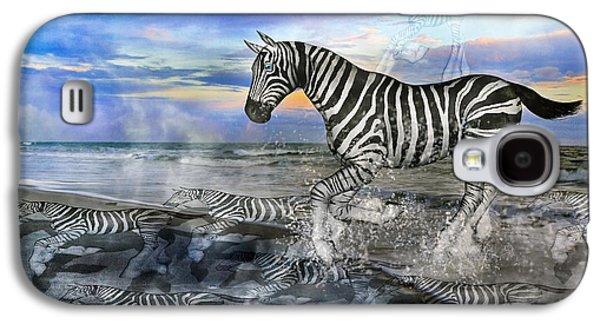 Coastal Stripes I Galaxy S4 Case