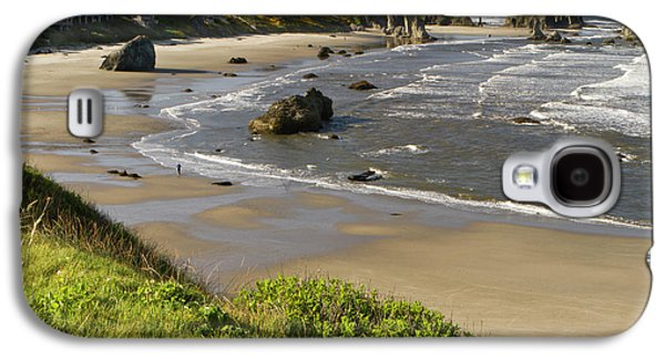 Coastal Views, Bandon, Oregon Galaxy S4 Case by William Sutton