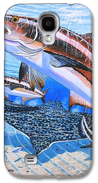 Cobia On Rays Galaxy S4 Case by Carey Chen