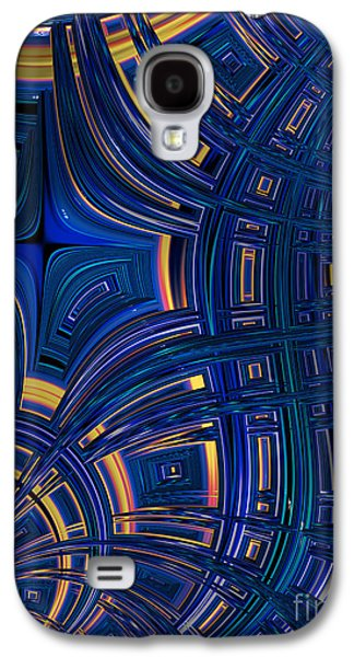 Cobolt Plates Galaxy S4 Case by John Edwards