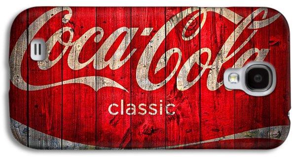 Coca Cola Barn Galaxy S4 Case