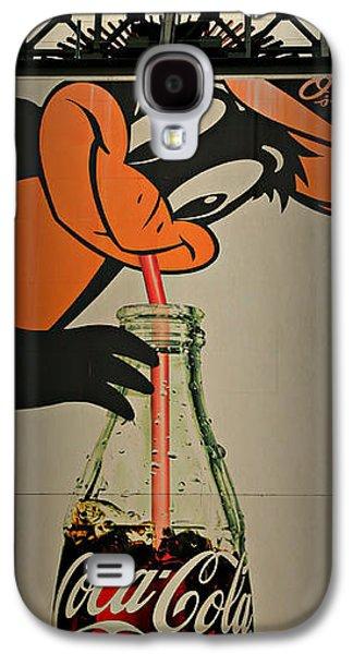 Coca Cola Orioles Sign Galaxy S4 Case