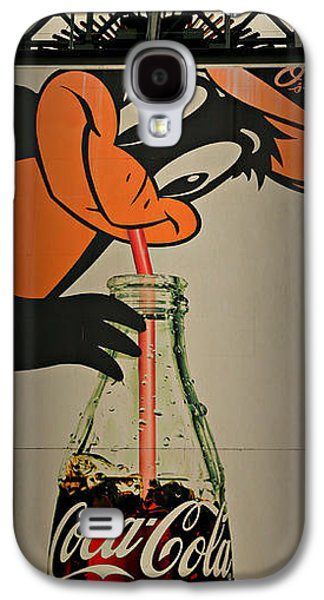 Coca Cola Orioles Sign Galaxy S4 Case by Stephen Stookey
