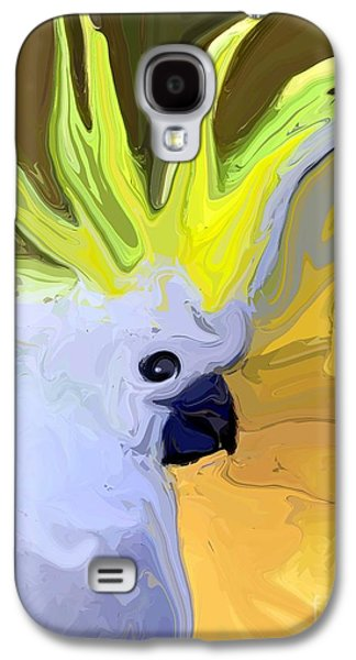Cockatoo Galaxy S4 Case by Chris Butler