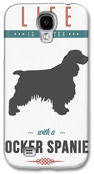 Cocker Spaniel 01 Galaxy S4 Case by Aged Pixel