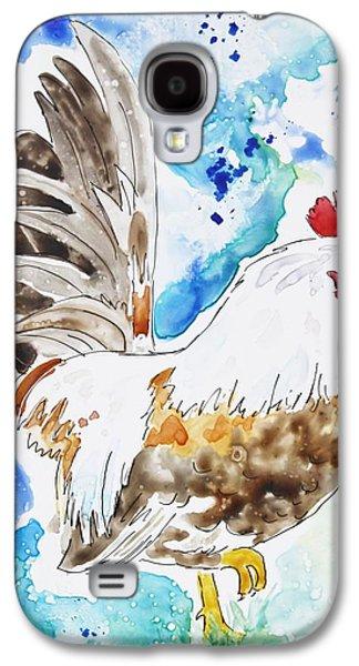 Cocky Galaxy S4 Case by Shaina Stinard
