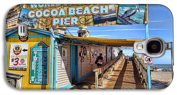 Cocoa Beach Pier In Florida Galaxy S4 Case