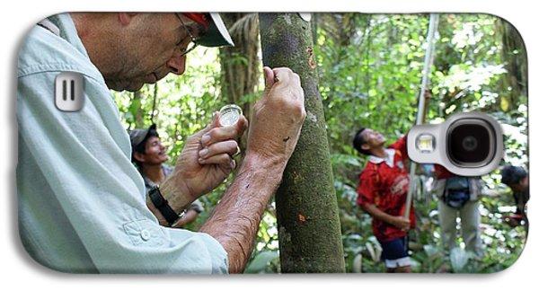 Cocoa Tree Pathogen Research Galaxy S4 Case